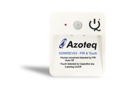Iqs680 Ev03 Azoteq Product Evaluation Kits